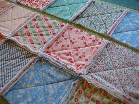 tutorial on quilting rag quilt quilting in the rain