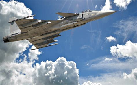 background jas saab jas 39 gripen wallpapers hd download