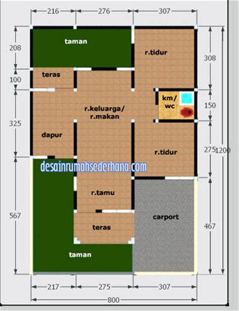layout rumah luas tanah 50 rumah minimalis cat hitam putih terbaru denah rumah luas