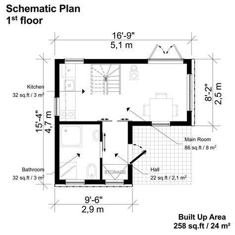2 bedroom floor plans 2 bedroom small house plans