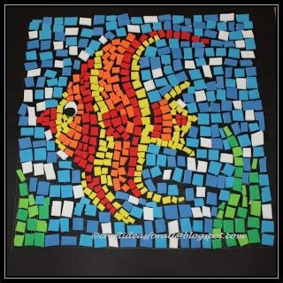 How To Make A Paper Mosaic Collage - 21 best mosaics projects for images on