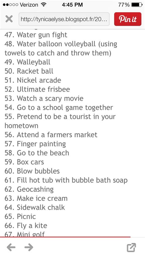 date ideas date ideas dates this summer