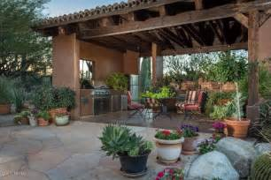Spanish Style Home Design Rustic Porch With Pathway Amp Fence In Tucson Az Zillow