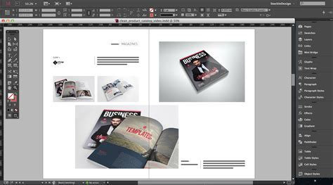 Adobe Indesign Sales Template Clean Product Catalog For Adobe Indesign