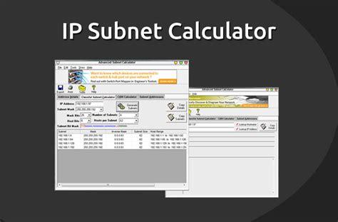 ip subnet calculator software   today
