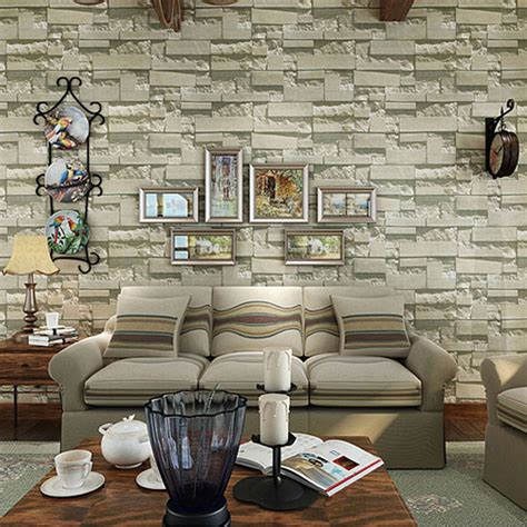 wallpaper for walls sles wholesale brick design luxury living room wallpapers
