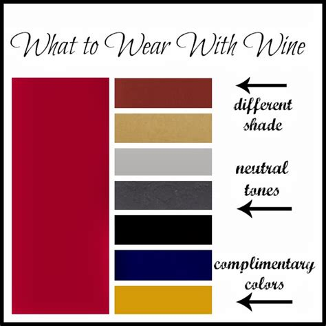 What Colors Go With Burgundy by New Favorite What To Wear With Wine