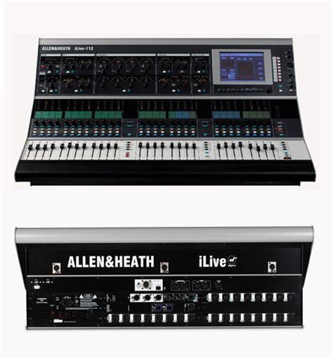 Mixer Allen Heath Ilive T112 lmc audio systems ltd allen heath ilive t112 mixer