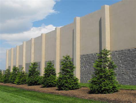soundretaining walls