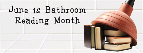 bathroom readers june is bathroom reading month giveaway