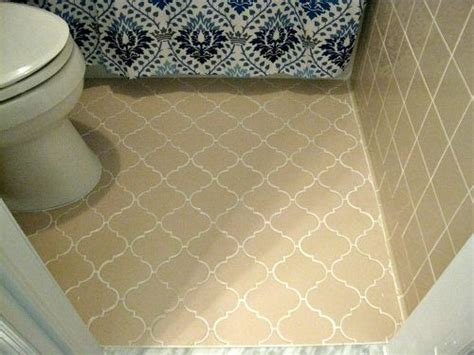 how to clean old bathroom floor tiles anyone ever paint an entire tile floor with grout renew