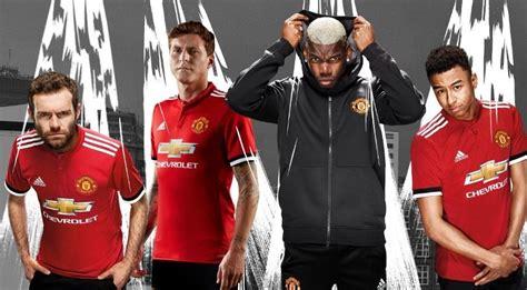 manchester united official 2018 a adidas apresentou oficialmente no dia 3 7 o novo uniforme titular do manchester united que