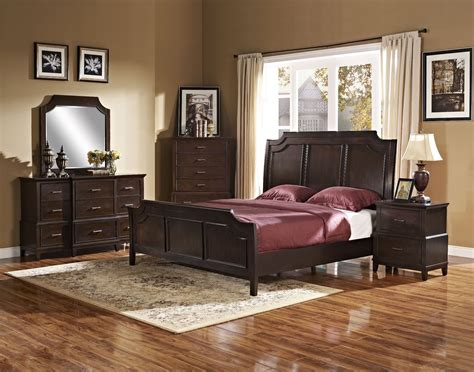 walnut bedroom furniture highland park distressed walnut panel bedroom set 00 128