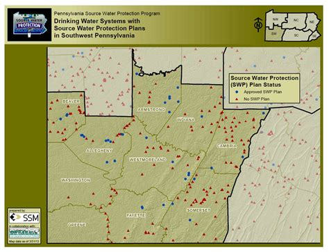 map of southwest pennsylvania your status sourcewaterpa