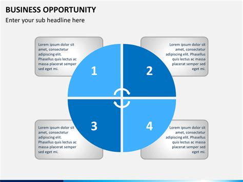 Business Opportunity Template business opportunity powerpoint template sketchbubble