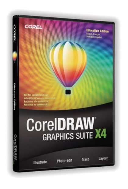 coreldraw graphics suite x4 bestselling software 2008 covers 350 399