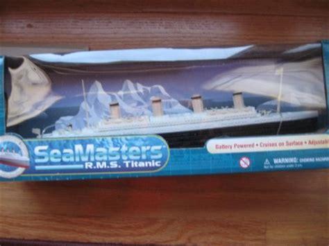 titanic toy boat that floats nib seamasters titanic battery operated ship boat floats
