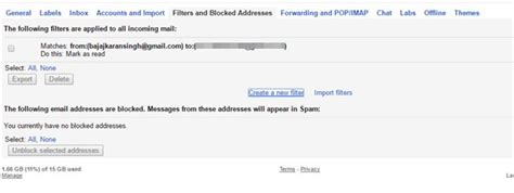 android pattern email address how to block email address in gmail on web or android
