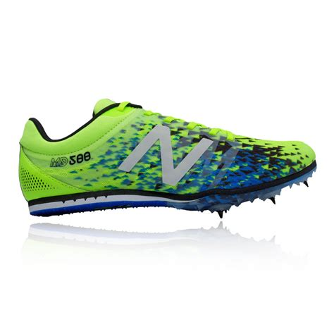 athletic shoes spikes new balance md500v5 mens green running athletic spikes