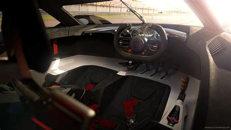 porsche concept interior car guys create porsche long tail racecar automobile
