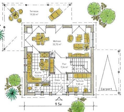 Grundriss Quadratisches Haus by Quadratischer Grundriss Einfamilienhaus