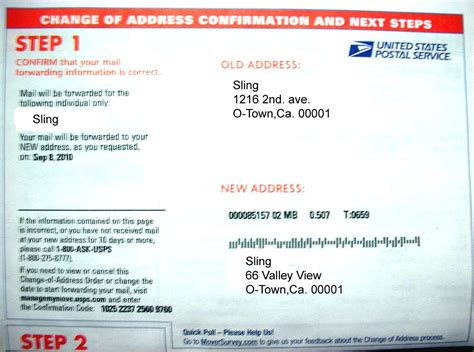 Address Verification Letter Usps Sling S Domain Sling Trek Ii The Wrath Of The Post