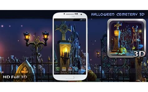 exodus live wallpaper android apps on google play halloween cemetery 3d lwp android apps on google play