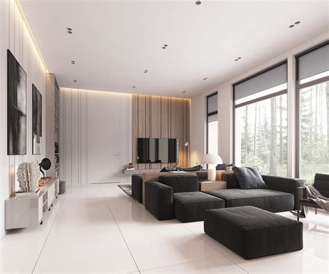 Minimalist Living Room Decor by Minimalist Home Design With Muted Color And Scandinavian