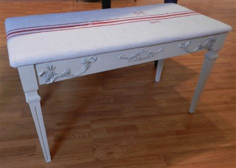 upcycled piano bench october projects