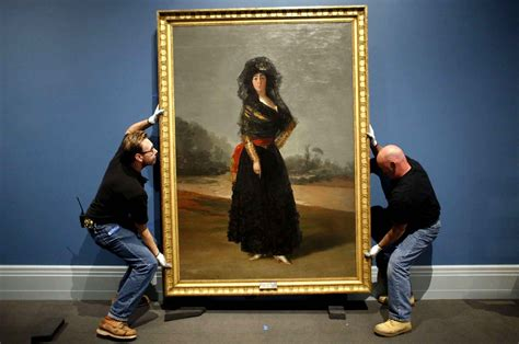 how to hang canvas art hanging a goya painting pictures freaking news