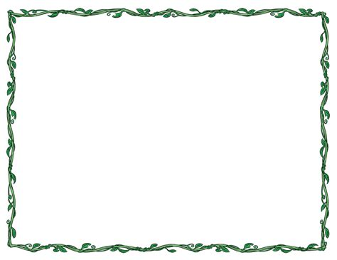 Free Clip Art Borders Printable Borders For Students And Teachers Letter Border Template