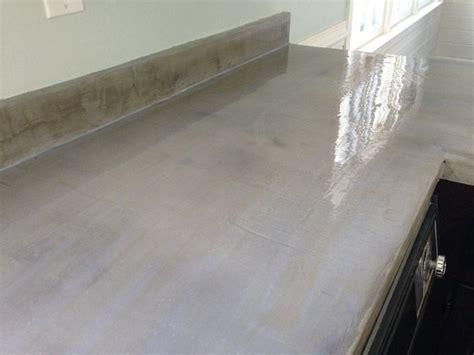 Concrete Countertop Sealing by 17 Best Ideas About Concrete Countertop Sealer On