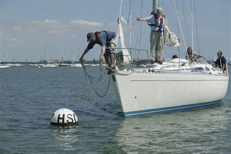mooring buoy boat exam sailing schools british offshore sailing school learn