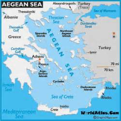 Aegean Sea On World Map by Aegean Sea Map Images Amp Pictures Becuo
