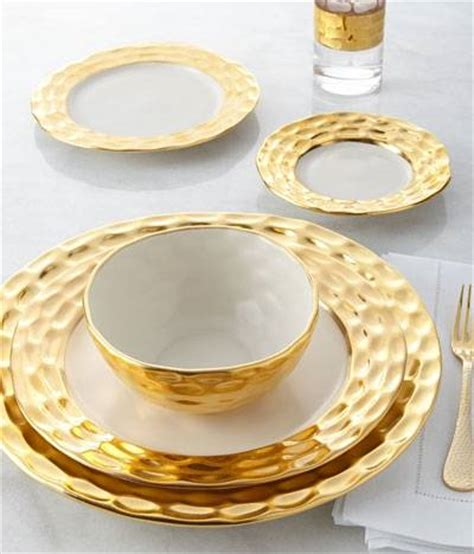 gold dining set plates set a gilded table with these 5 luxury dinnerware sets