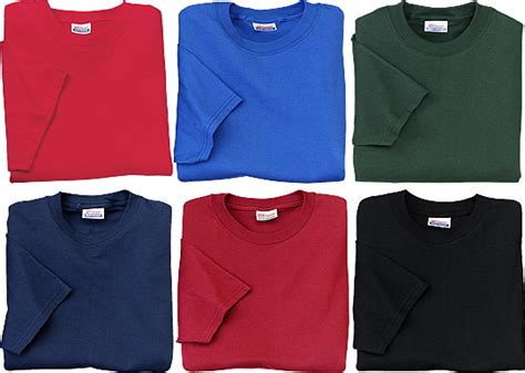 hanes colored t shirts color your undershirt world undershirt