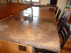 Rustic Kitchen Countertops 17 Best Ideas About Concrete Counter On Polished Concrete Countertops Cement