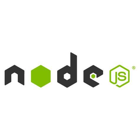 node js node js logo vector logo node js download