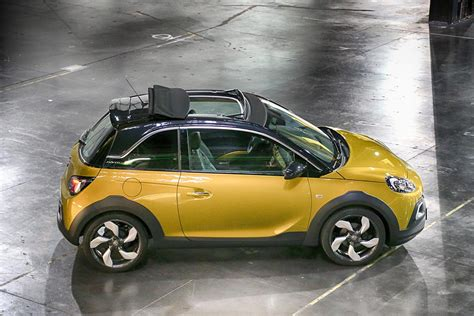 opel adam rocks nouveau opel adam rocks 2014 en photo