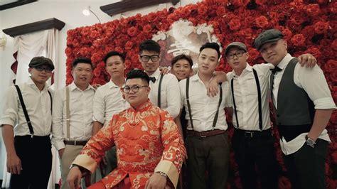 malaysia chinese wedding decoration  restaurant pekin jj