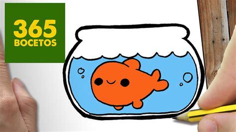 imagenes de animales kawaii 365bocetos como dibujar pecera kawaii paso a paso dibujos kawaii