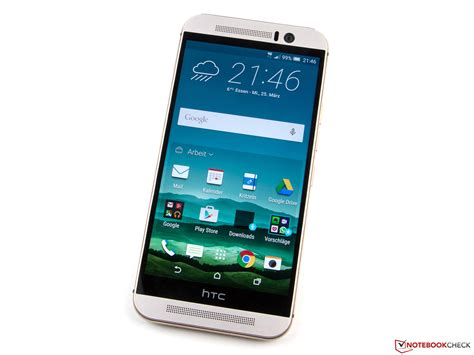 htc one m9 htc one m9 smartphone reviews specs t mobile htc one m9 smartphone review notebookcheck net reviews