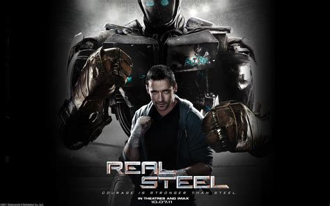 film robot atom real steel wallpapers
