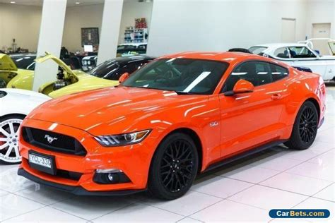 Wheels 2016 Ford Gt Race Orange 71 D2018 2016 ford mustang fm fastback gt 5 0 v8 competition orange automatic 6sp a ford mustang
