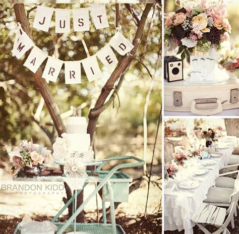 vintage wedding decor decoration
