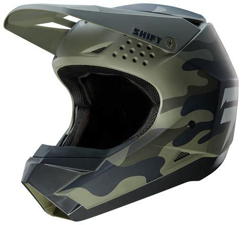 shift whit label camo helmet revzilla
