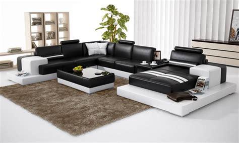 Délicieux Chaise De Salon De Jardin Pas Cher #3: 6053-thickbox-canape-angle-cuir-pas-cher-avec-meridienne-noir-marabella-u-paris.jpg