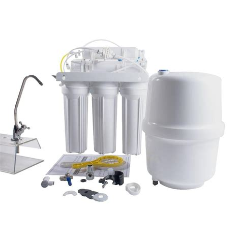 reverse osmosis under sink system anchor usa 6 stage under sink reverse osmosis water