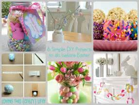 loving this crazy life last minute easter diy projects