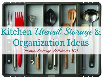 kitchen utensil storage ideas kitchen utensil storage organization ideas